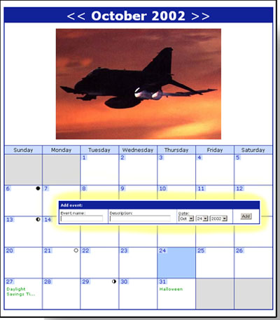 GAC Calendar