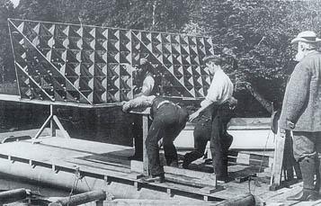 Alexander Graham Bell's Tetrahedral Kite
